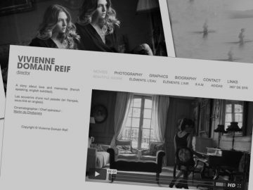 Site internet (VIVIENNE DOMAIN REIF)
