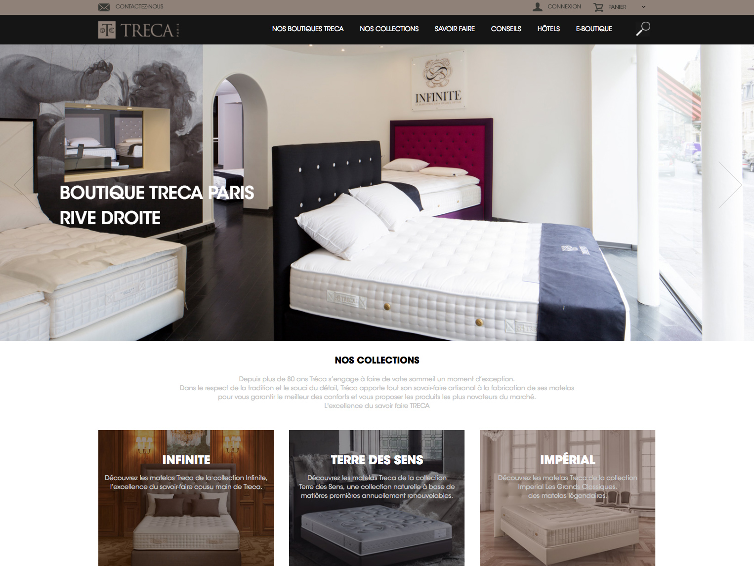 Treca Stores : home page